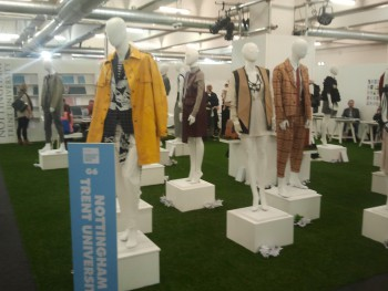 graduate fashion week exhibition