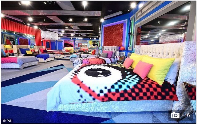 duvet covers on Big Brother