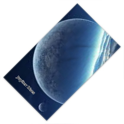 Jupiter rises planet design towel
