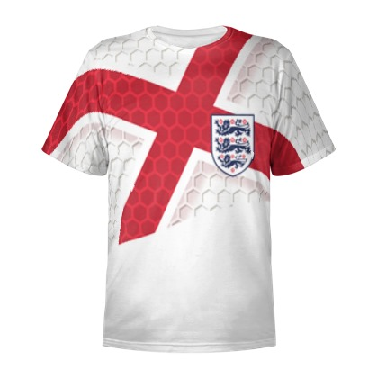 England flag Euro 2016 design Personalised T-Shirt