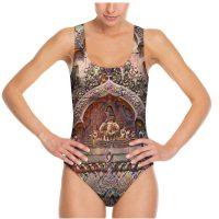 custom printed swimsuit