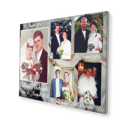 photo montage wedding photos canvas wall art