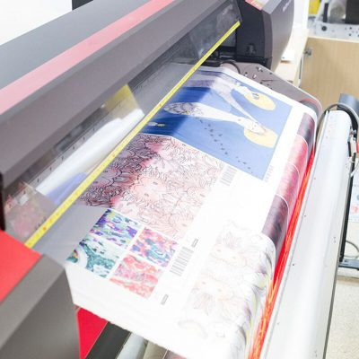 fabric printing on demand uk