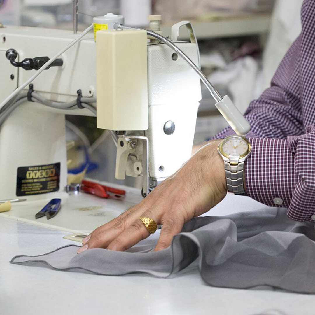 sewing handmade clothes