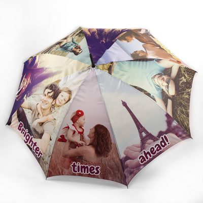 personalised custom printed umbrella