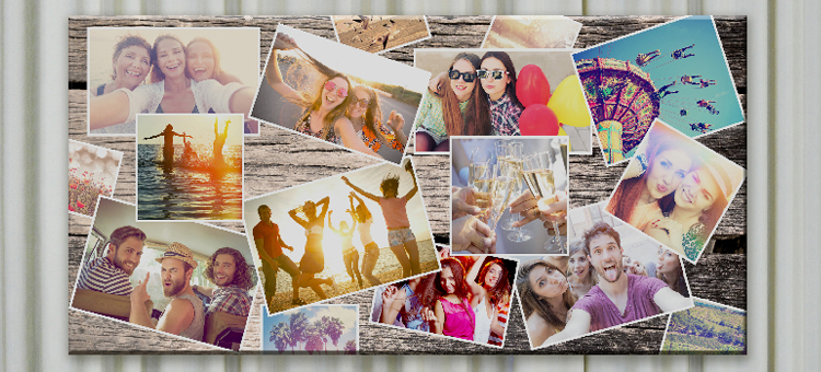 personalised photo collage canvas prints gift ideas blog