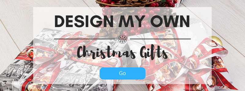 design my own Christmas gifts
