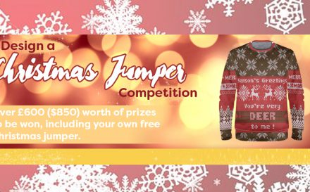 christmas jumper design competition banner