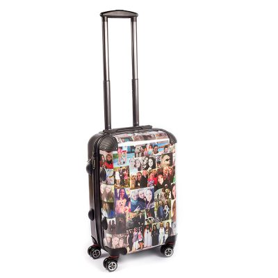 personalised suitcase photo luggage