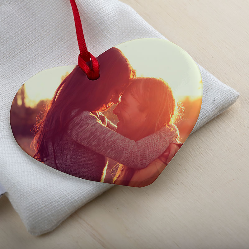 personalised ornament for valentine's day
