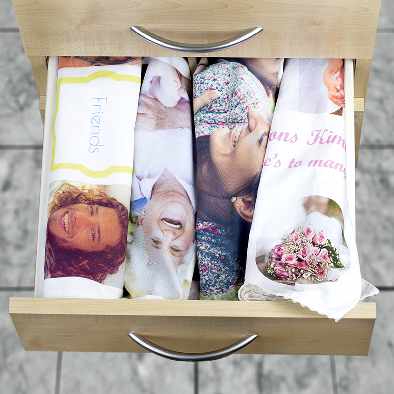 personalised mother's day tea towels