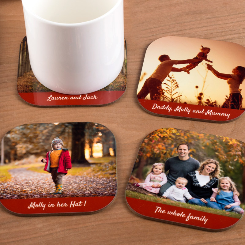 personalised mother's day coasters