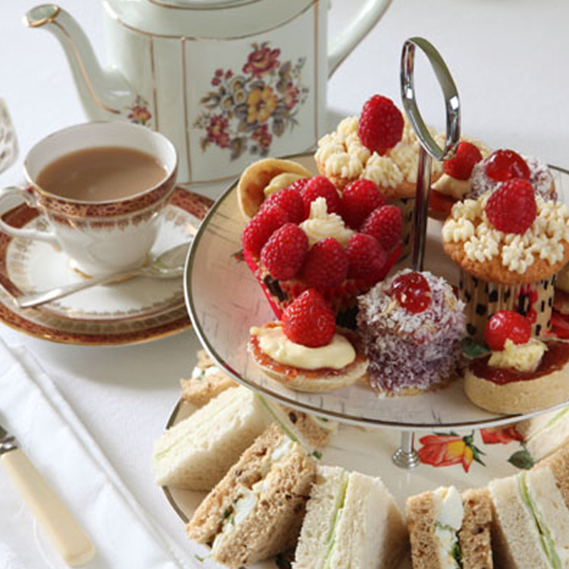 classic afternoon tea at home