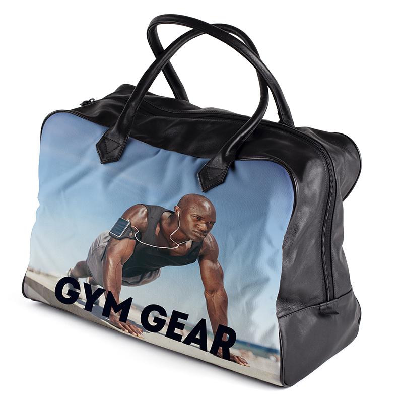 personalised gym bag holdall