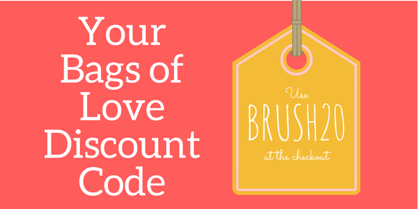 bags of love discount code button
