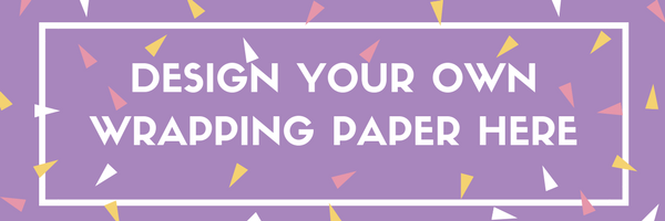 design your own wrapping paper here