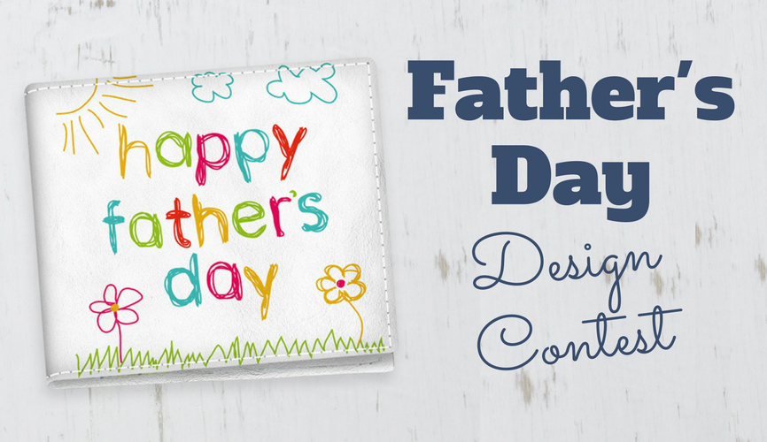 Father's Day design contest blog header
