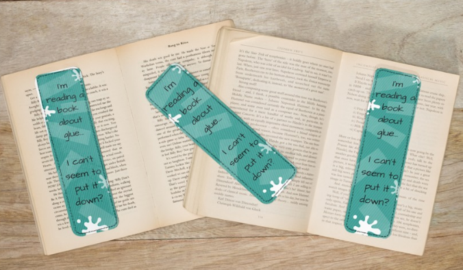 bookmark design for dads