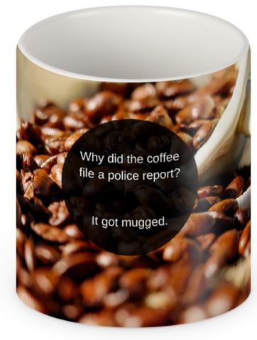 funny mug joke gift