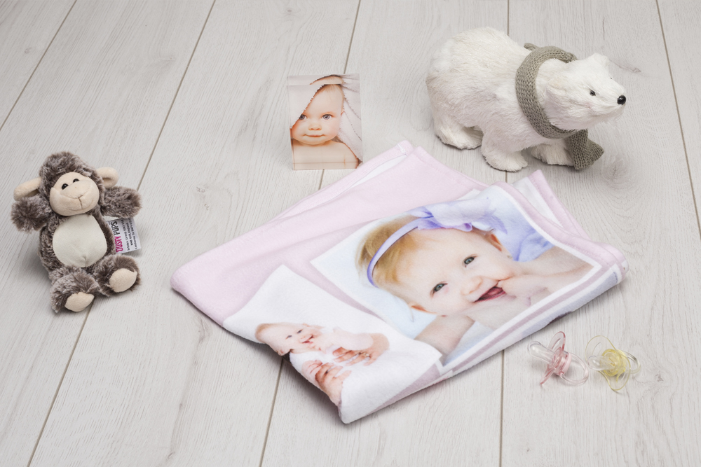 how to make a baby blanket final product