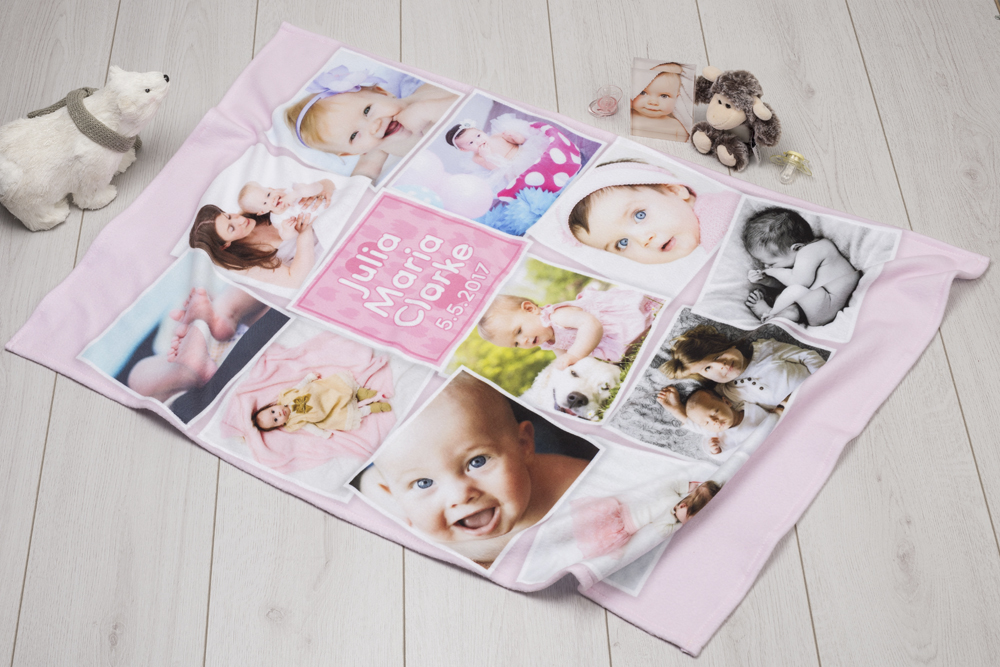 how to make a baby blanket final edit