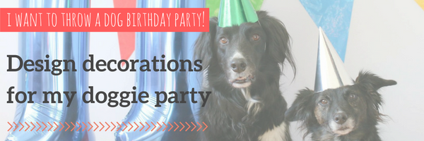 shop decorations for dog birthday party