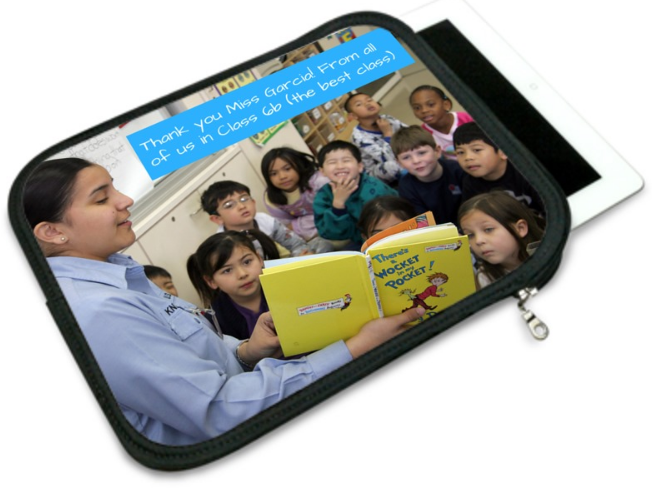 iPad case for primary school teacher