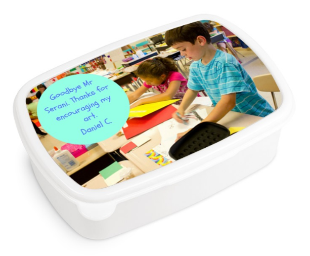 lunchbox personalised gifts for teachers
