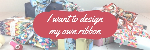 i want to design my own ribbon