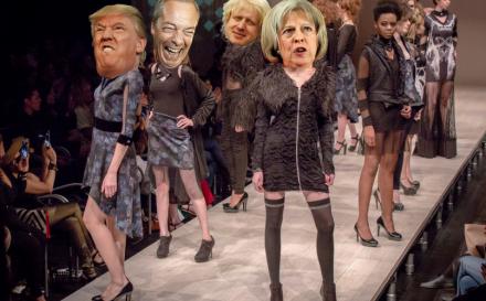 when politics meets fashion blog