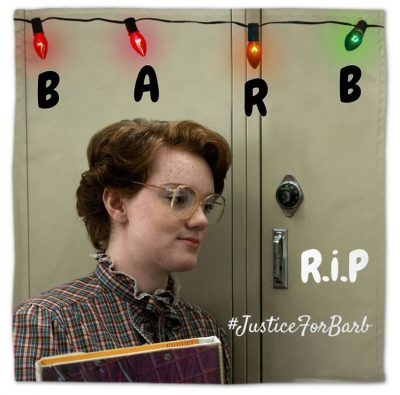 RIP Barb custom napkins