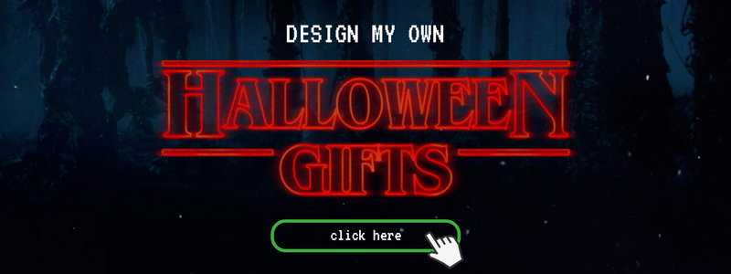 design your own Stranger Things halloween gifts button