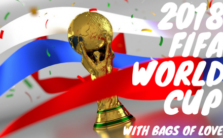 2018 fifa world cup with bags of love