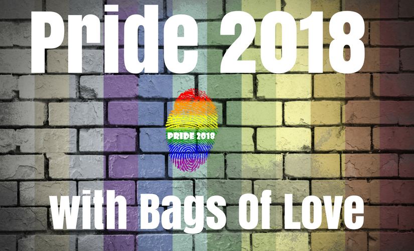 How to get ready for Pride 2018 Events with Bags of Love - Gift Ideas Blog