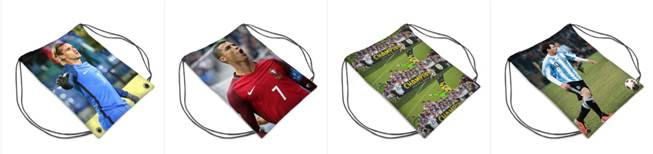 World cup 2018 sports bags