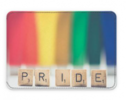 pride 2018 scrabble card holder