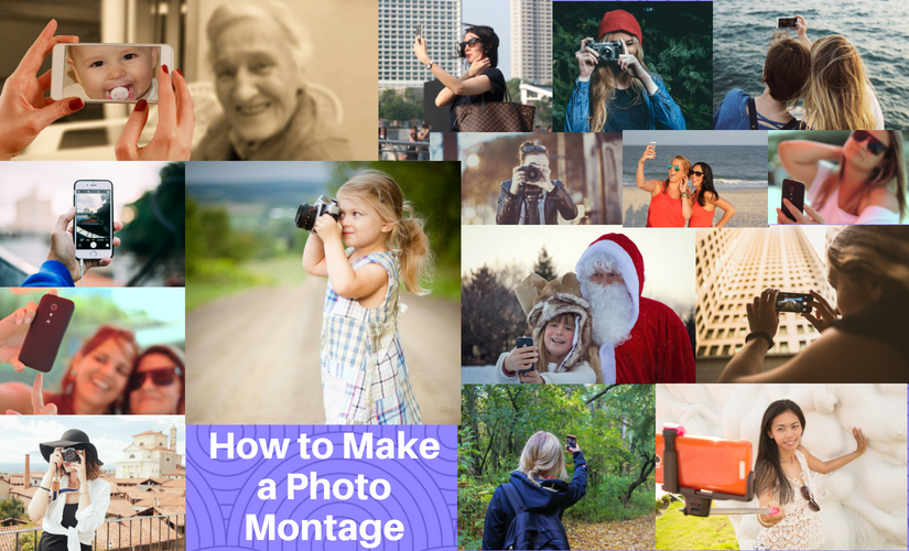 how to create a photo montage