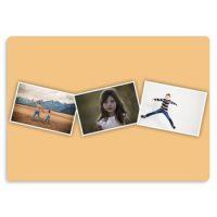 photo collage ideas 2 photo metal print