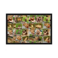 photo collage ideas 16 photo doormat