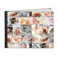 photo collage ideas guestbook 18