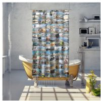 photo collage ideas 100 photos shower curtain