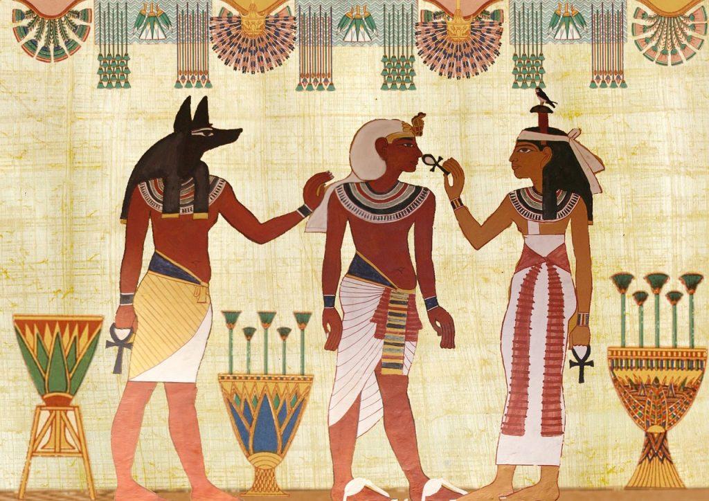 history of birthdays egyptians