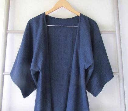 handmade heathered kimono