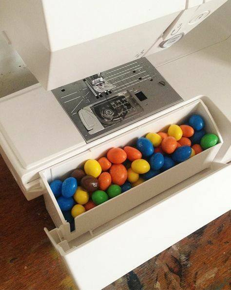 m and m sewing hack