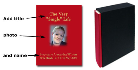 design your own life book