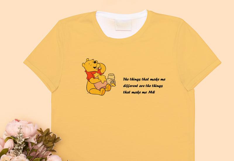Winnie the pooh custom T-shirt
