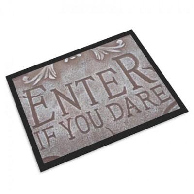 Halloween custom door mat