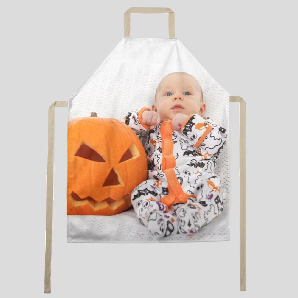 Halloween custom apron