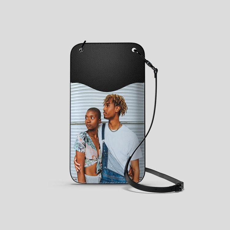 personalised phone holder