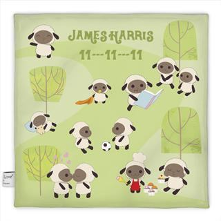personalised baby comfort blankets night night